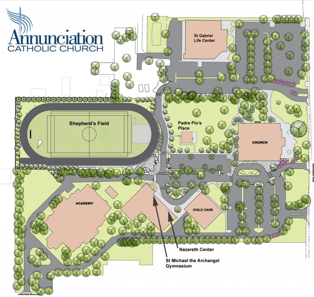 Annunciation Campus Map