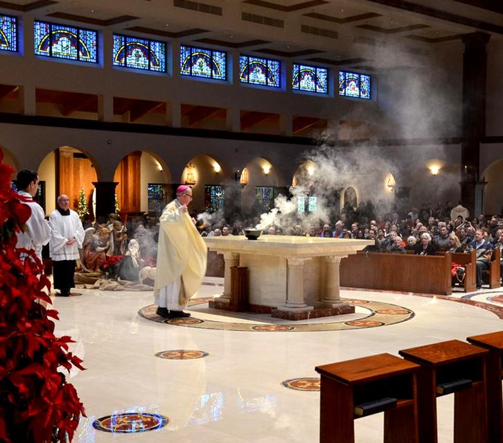 Wedding Prayer Altar: Annunciation Catholic Church