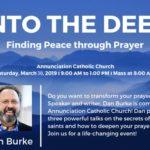 Dan Burke - Into The Deep - Saturday, March 30th