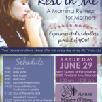 Rest in Me - A Morning Retreat for Mothers