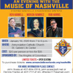 An Evening with the Music of Nashville - January 18