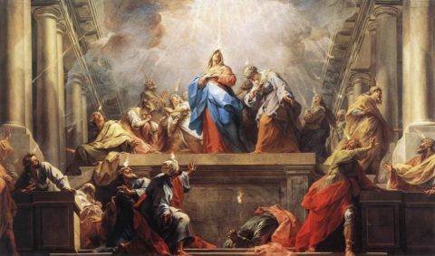 Novena to the Holy Spirit - starting May 14th
