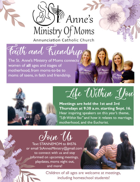 St Anne's Ministry of Moms